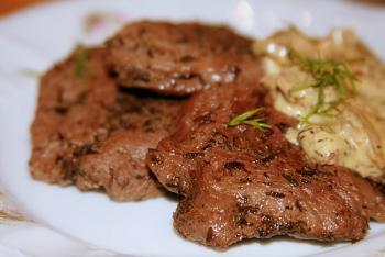 Блюда из говяжьей печени