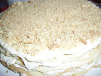 Крем для торта сметанный