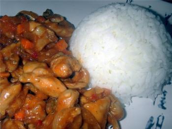 Курица по китайски