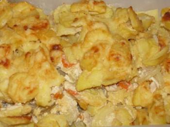 Мясо с картошкой по французски рецепт