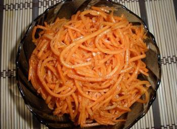 По корейски морковь