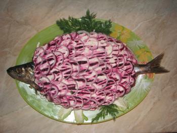 Под шубой салат рецепт
