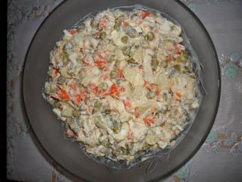 Рецепт оливье салата