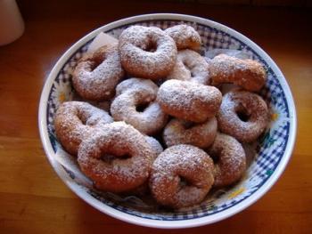 Рецепт пончики