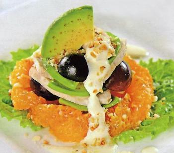 Рецепт салат с авокадо