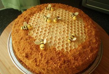 Рецепт торт медовый