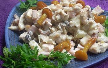 Рецепты салатов на день рождение