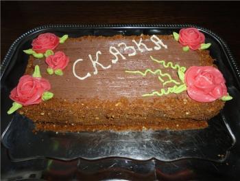 Рецепты тортов в домашних условиях