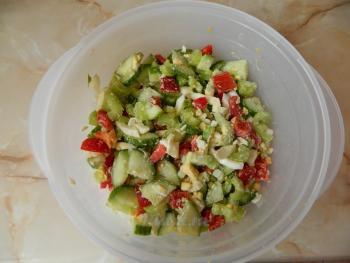 Салат с сельдерея