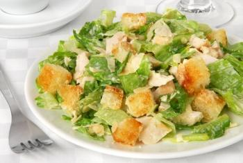 Салат цезарь рецепт с курицей