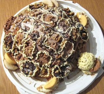 Торт черепаха рецепт с фото