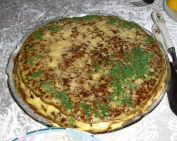 Торт из печени рецепт