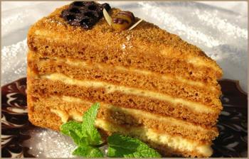 Торт рыжик рецепт с фото