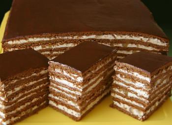 Торт шоколадный рецепт с фото