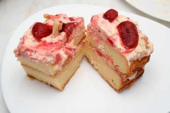 Торт творожный рецепт