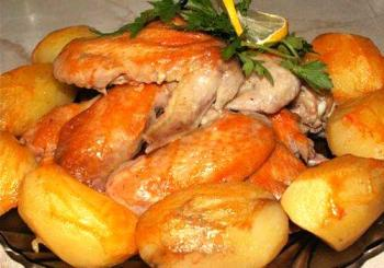 Вторые блюда из курицы