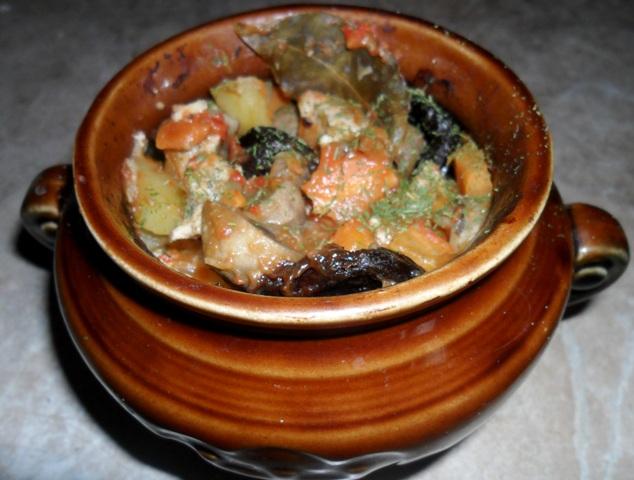 Рецепты копченые ребрышки с овощами