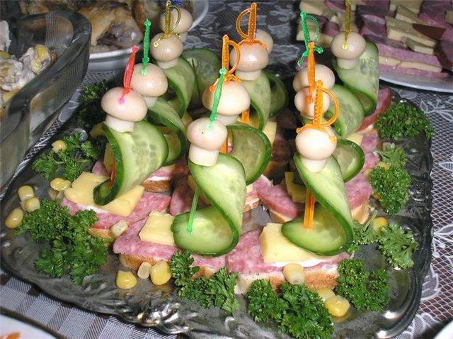 Вкуснейшие праздничные бутерброды