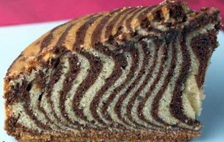 Зебра рецепт пирога