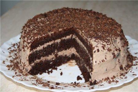 Торты бисквитные рецепты с фото