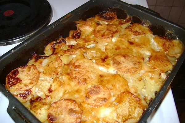картошка по-французски с мясом рецепт