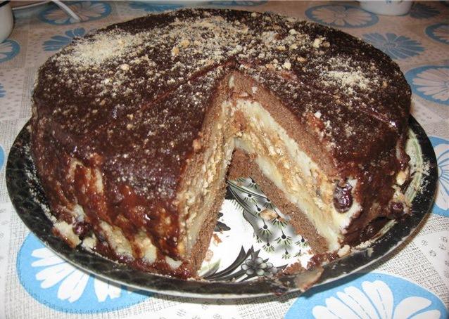 рецепт торта сникерса в домашних условиях с фото