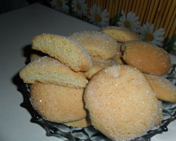 Рецепт печенья на сметане без маргарина с фото