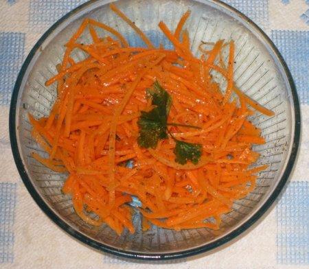 Рецепт морковки по корейски