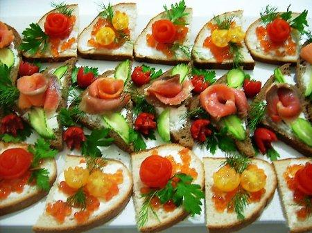 Бутерброды постные