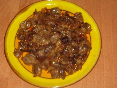 Рецепт куриные желудочки
