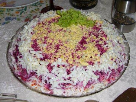 Селедка под шубой классический рецепт