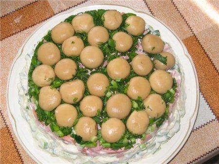 Салатики на скорую руку