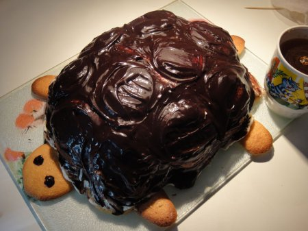 Черепашка торт