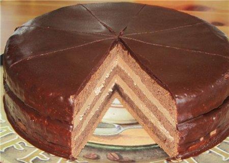 Пражский торт рецепт
