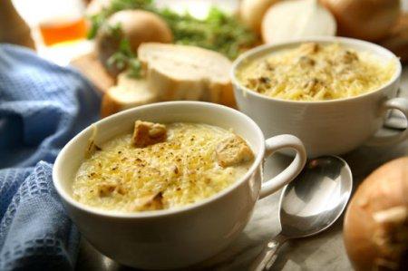 Луковый суп по французски