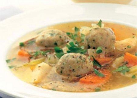 Простые фрикадельки для супа