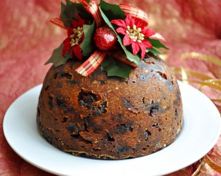 Рецепты на английском языке – Английский рождественский пудинг