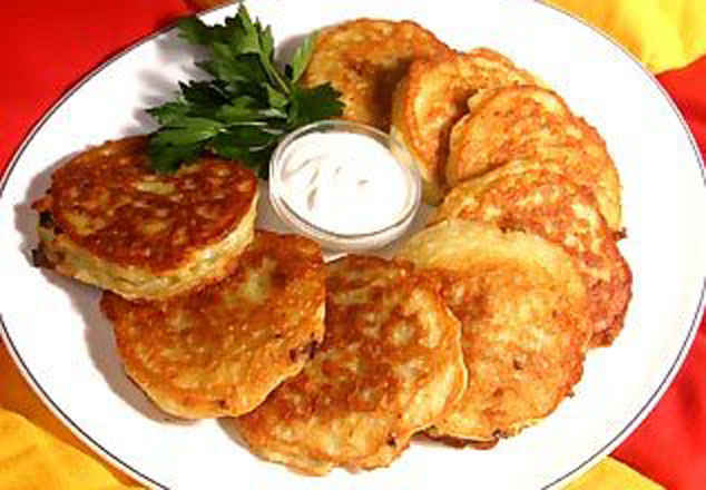 Постные драники из картофеля рецепт