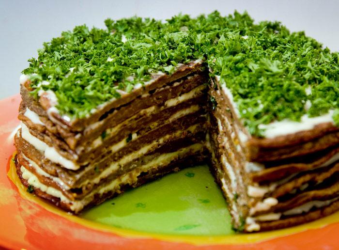 Печеночного торта готовим вкусно