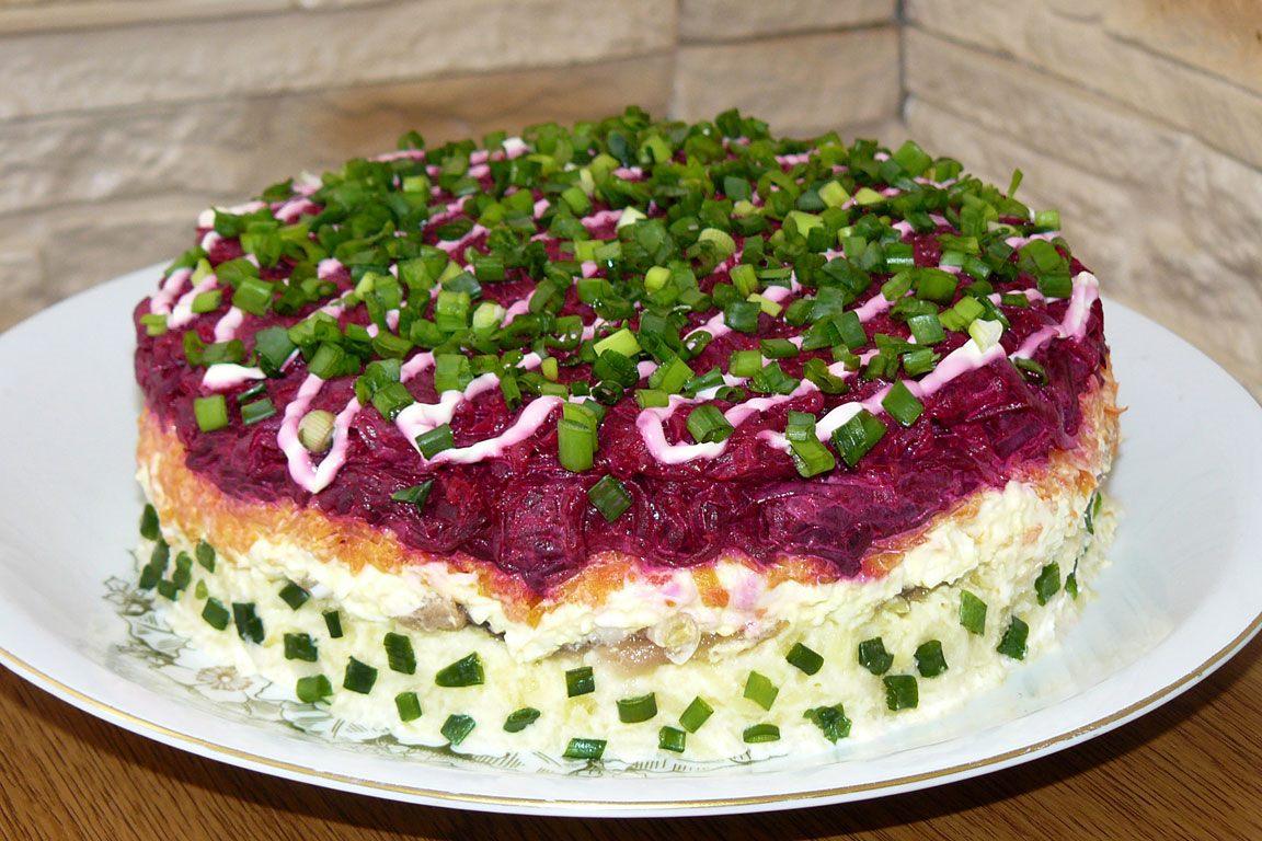 салат под шубой рецепт скрипкина