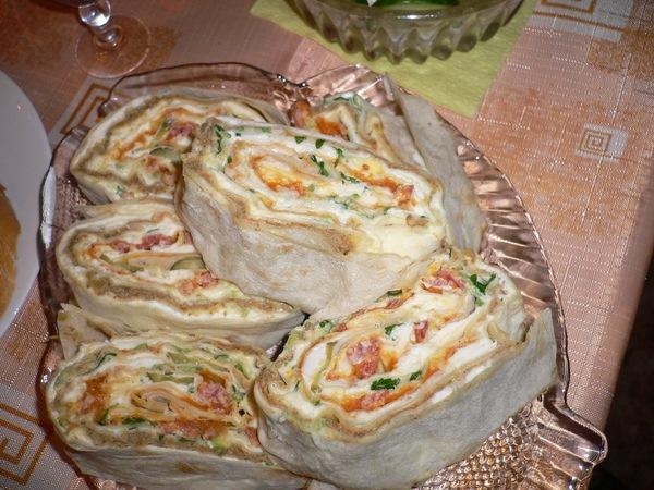 Рецепты из лаваша рецепты с фото пошагово