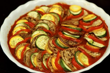 Рецепт тушеные овощи – Рататуй
