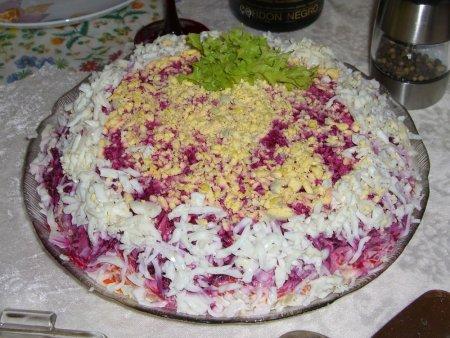 Рецепт салат под шубой