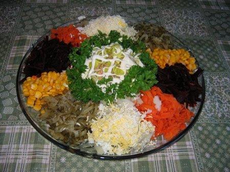 Рецепты салатов простые