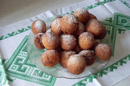 Рецепт: творожные шарики