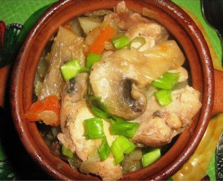 Рецепты мясо в горшочках