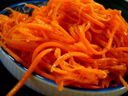 Рецепт моркови по корейски