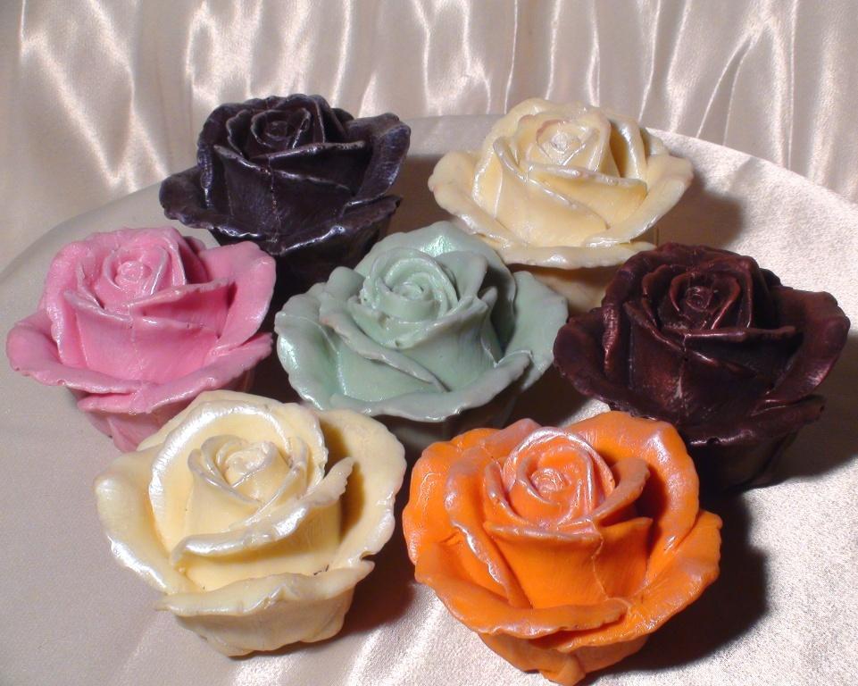 Пирожное поцелуй роз