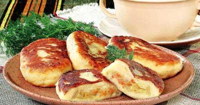 Картофельные заварные пирожки