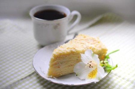 Торт наполеон - рецепт